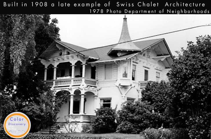Swiss Chalet Norvell_house