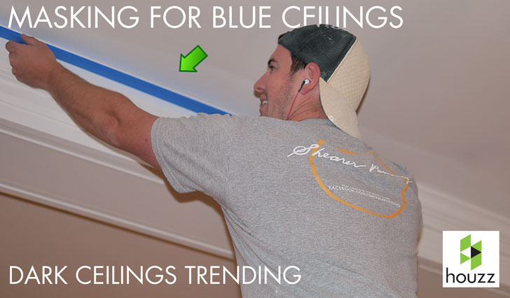 Blue-ceilings